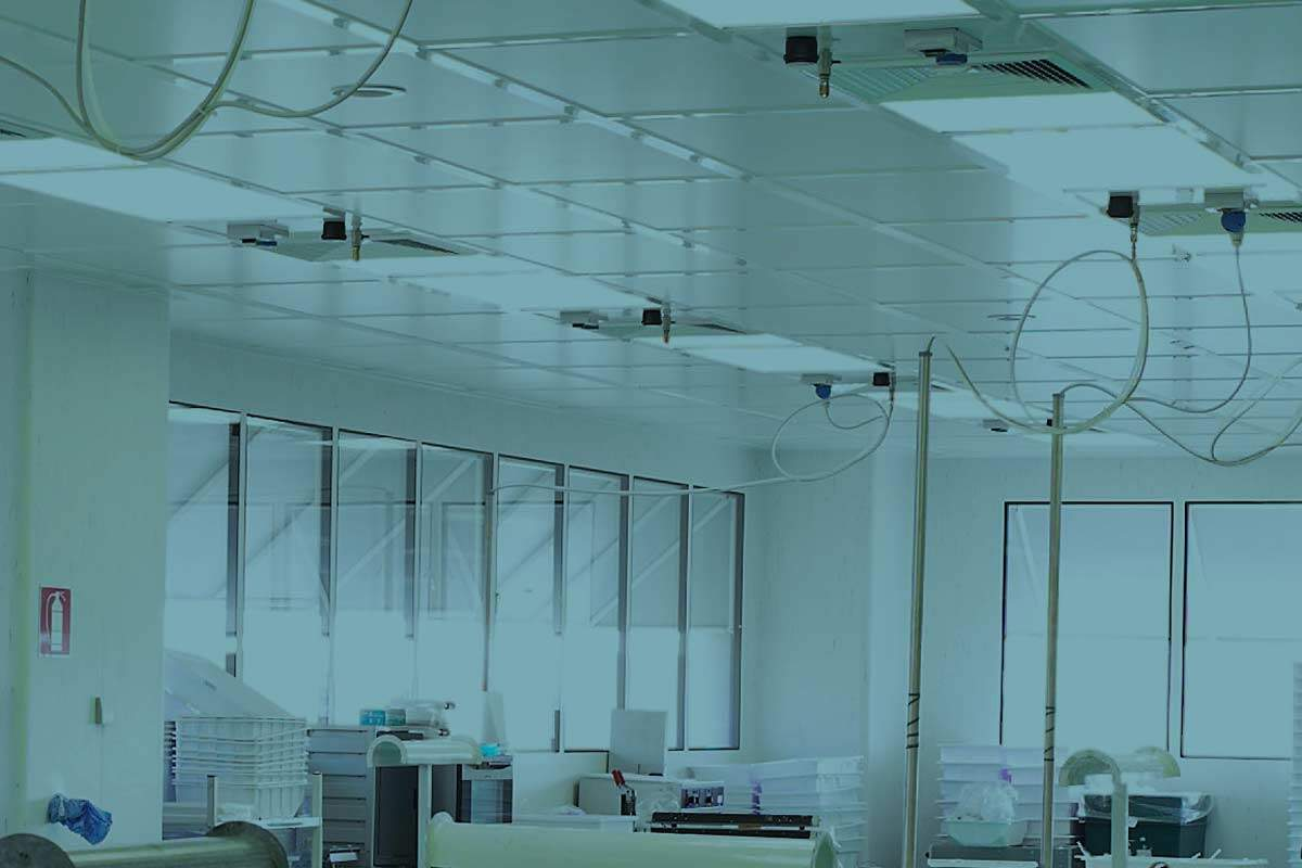 Air flow systems in clean room design cleanroom connect for Air circulation in a room