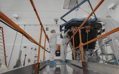 NASA Parker Solar Probe Receives New Cutting-Edge Heat Shield