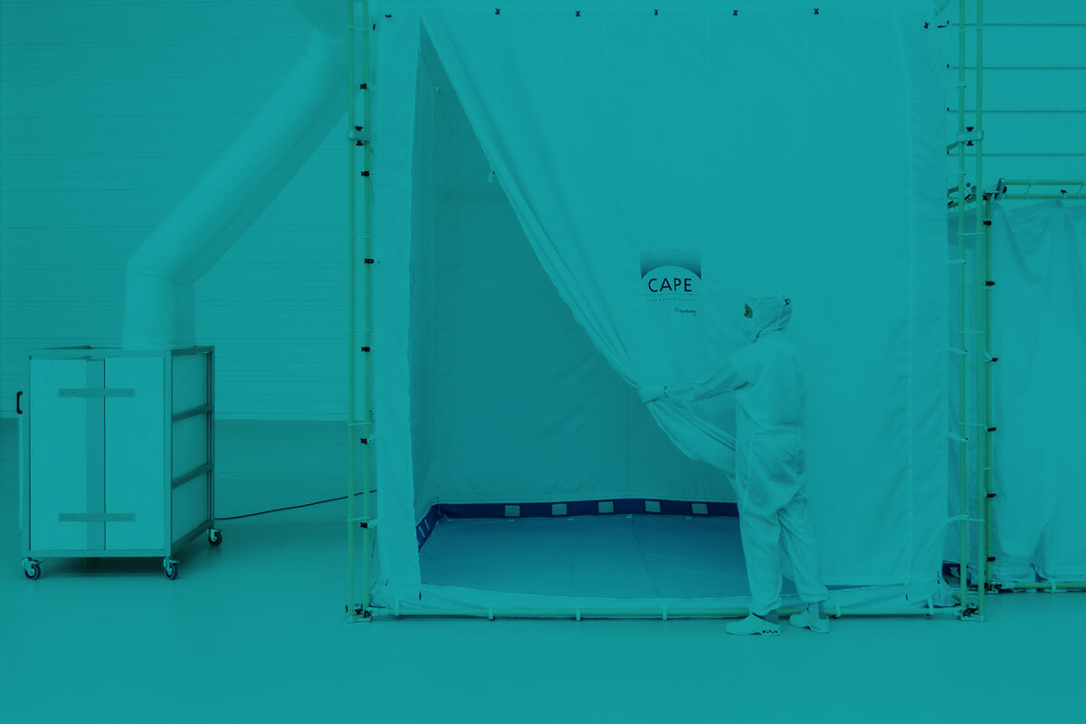 & Portable Cleanroom System - Global Cleanroom News Source