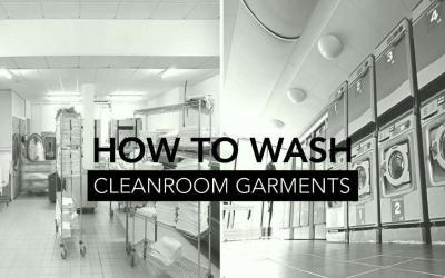 How to Wash Cleanroom Garments