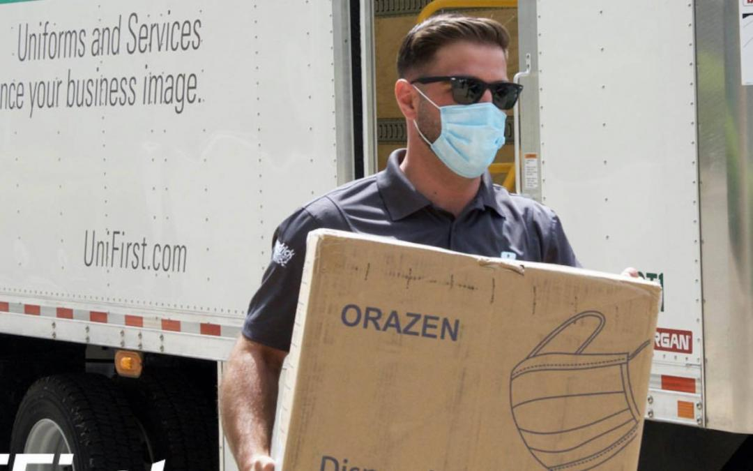 UniFirst Donates Over a .25M Protective Face Masks for Small Businesses