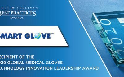 Smart Glove Acclaimed by Frost & Sullivan for Introducing Several First-of-their-kind Medical Gloves to the Market
