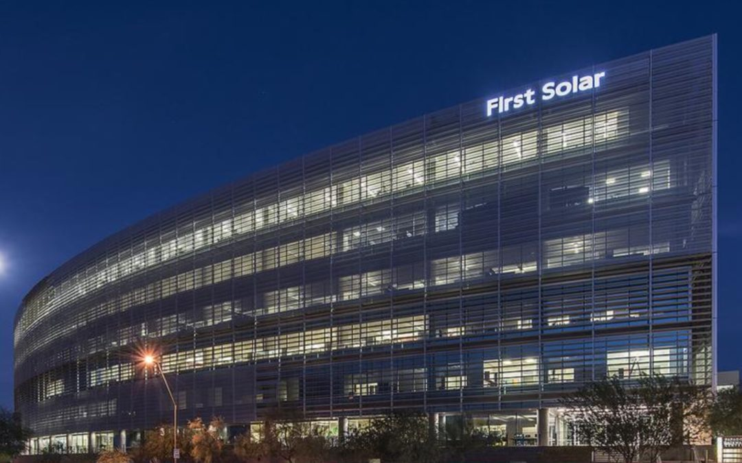 First Solar breaks ground on 3.3 GW production facility