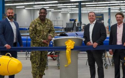 General Dynamics Mission Systems Opens New UUV Manufacturing and Assembly Center of Excellence