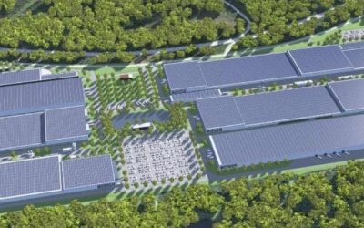 Exyte developed Factory Concept for Morrow Batteries' leading edge and sustainable Li-ion Battery Giga-Site in Norway