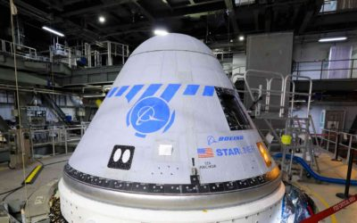 NASA, Boeing to Move Starliner to Production Facility for Propulsion System Evaluation
