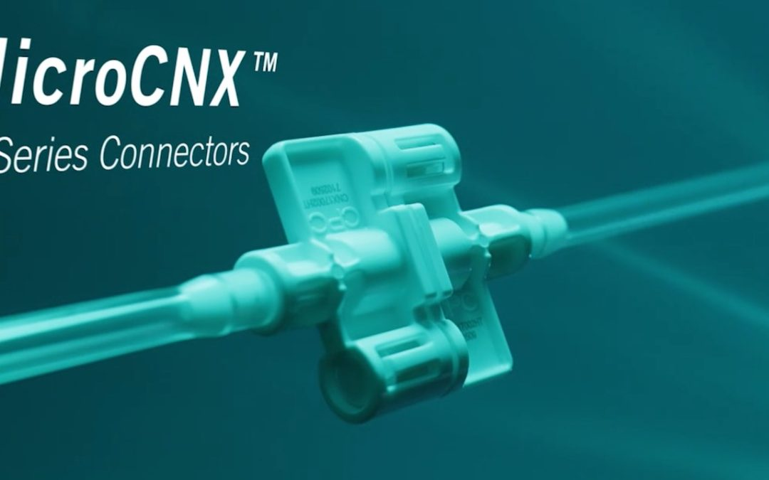 CPC Launches New MicroCNX Connectors, a First for Small-Volume Biopharma Processing